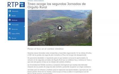 "RTPA-""Tineo acoge las segundas Jornadas de Orgullo Rural"""