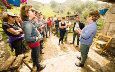 Visita del equipo técnico de SOS Praderas al Parque Nacional Picos de Europa