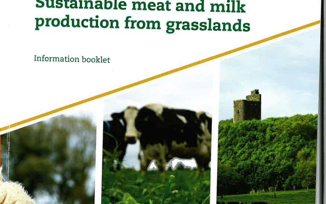 presentación de resultados del proyecto en el congreso internacional EGF 2018 «Sustainable meat and milk production from grasslands»