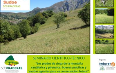 """Taller local: """"Los prados de siega de la montaña cantábrica y pirenaica: buenas prácticas y ayudas agrarias para su conservación futura"""". 8 de noviembre de 2018"""