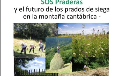 Pilar García Manteca presenta el proyecto SOS Praderas en el Parador de Cangas de Onís.
