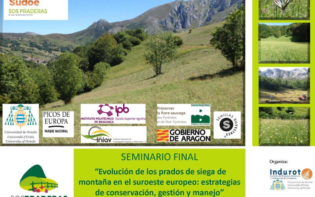 Seminario Final del proyecto SOS Praderas